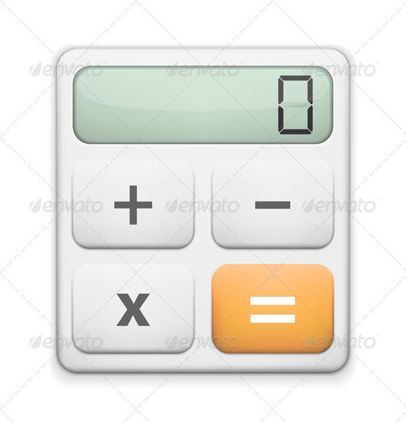 GraphicRiver Calculator Icon 5458136