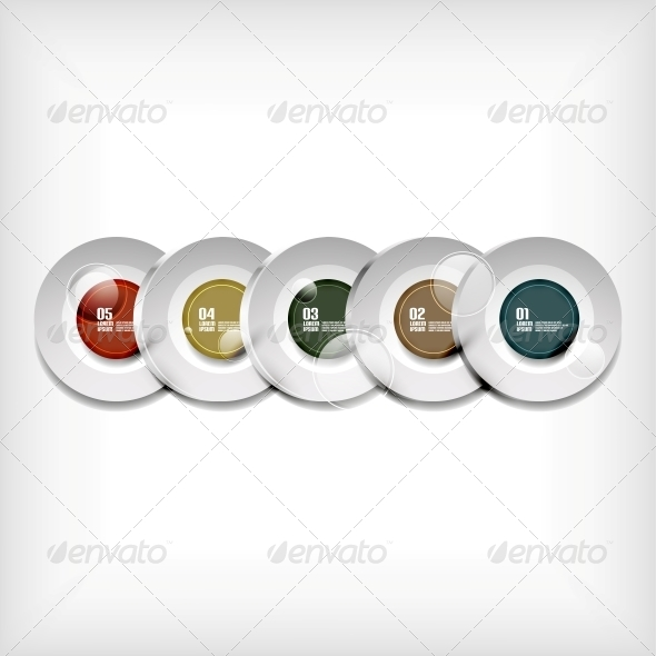 GraphicRiver Circles Infographics Modern Design 5458417
