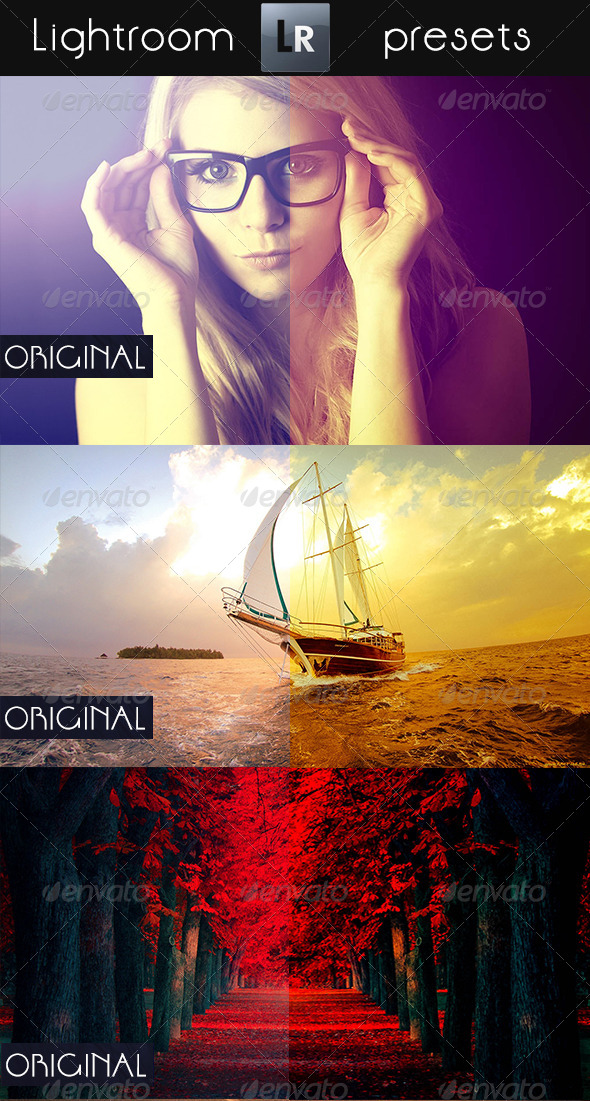 GraphicRiver 8 Mixed Pro Presets 5458440