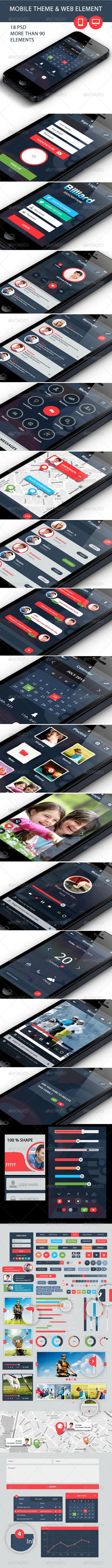 GraphicRiver Mobile Theme Creative 5449935