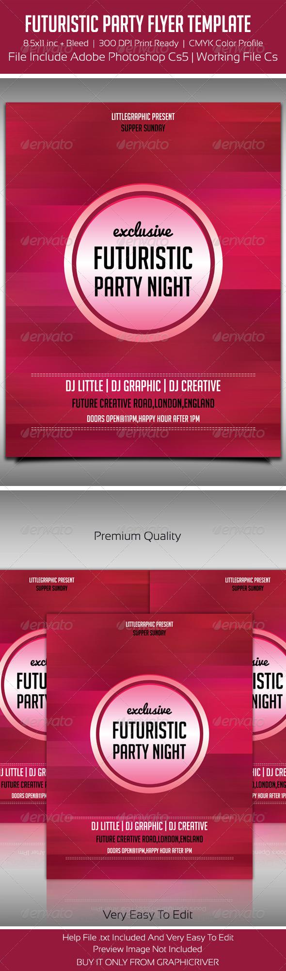 GraphicRiver Future Flyer Template 2 5445968