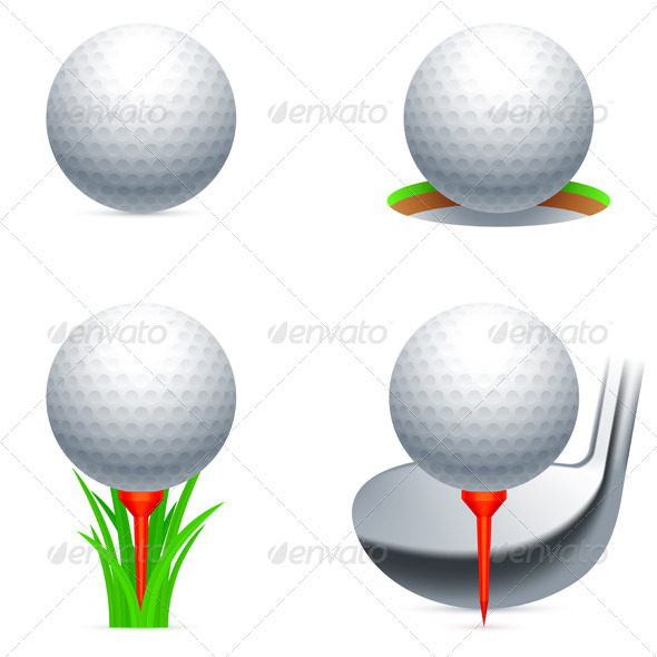 GraphicRiver Golf Icons 5459167