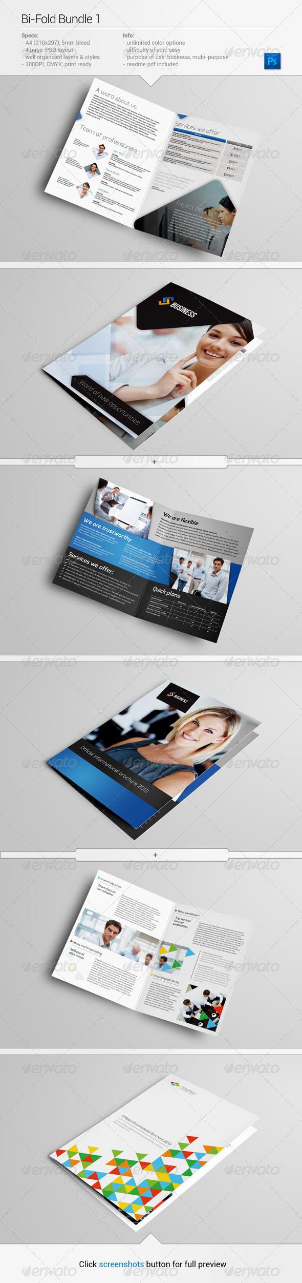 GraphicRiver Bi-Fold Bundle 1 5459302