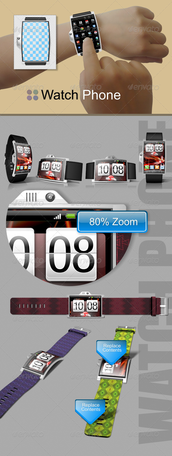 GraphicRiver Watch Phone 5459407