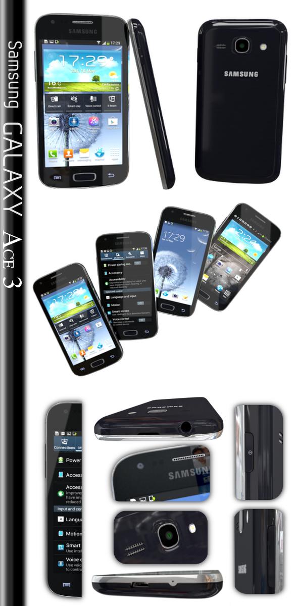 3DOcean Samsung Galaxy Ace 3 5451862