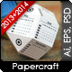 3d DIY Paper Ball Calendar - 2013, 2014 - GraphicRiver Item for Sale