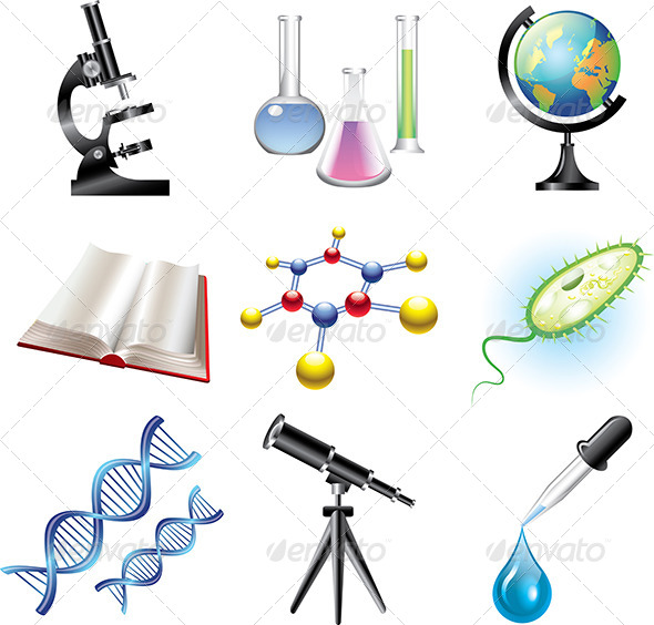 GraphicRiver Science and Chemistry Vector Set 5460117