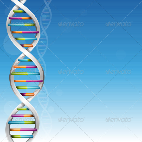 GraphicRiver DNA Background 5460133