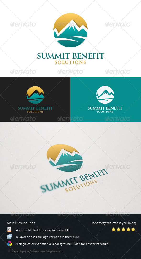 GraphicRiver Summit Benefit Solutions 5460136
