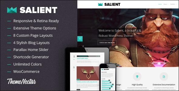 Salient - Responsive Portfolio & Blog Theme - Portfolio Creative