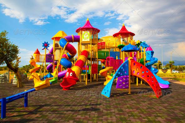 Playground-4 - Stock Photo - Images
