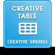 CreativeTable - CodeCanyon Item for Sale