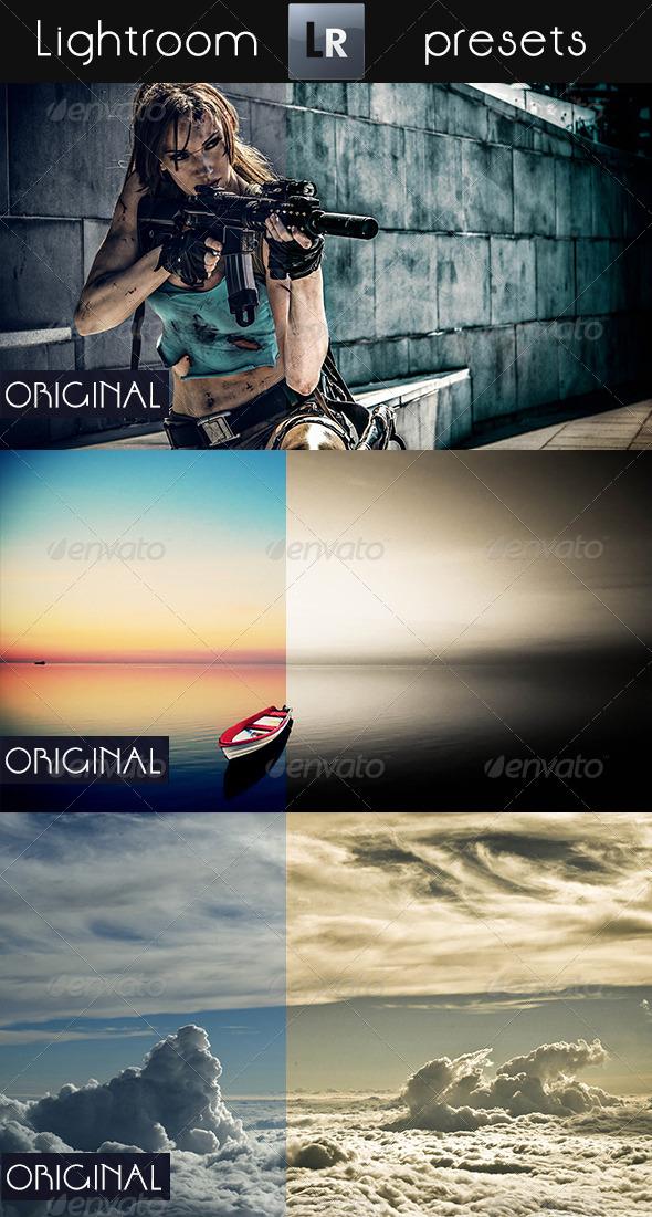 GraphicRiver 50 Artistic LR Pro Presets 5462335