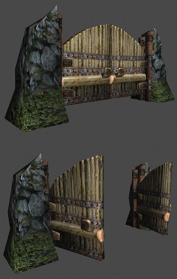 3DOcean Gate 3D Model 5462543