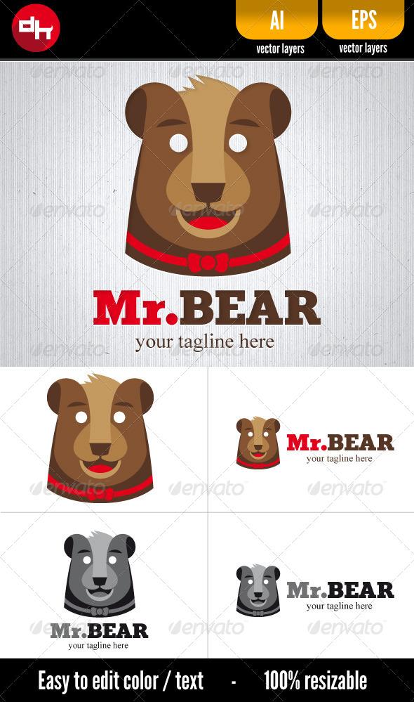 GraphicRiver Mr Bear 5463642