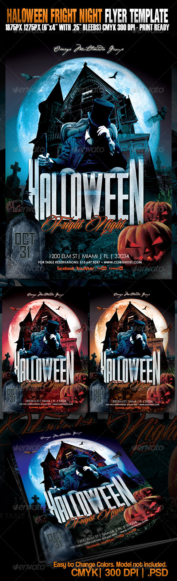 GraphicRiver Halloween Fright Night 5448365