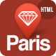 Paris - Responsive HTML5 Template - ThemeForest Item for Sale