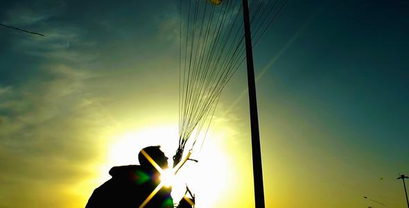 VideoHive Parachute 5463910