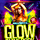 Glow in The Dark Halloween Flyer Template  - GraphicRiver Item for Sale