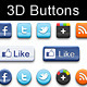 3D buttons - Layered PSD - GraphicRiver Item for Sale