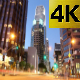 Downtown Los Angeles During Sunset In Timelapse - VideoHive Item for Sale