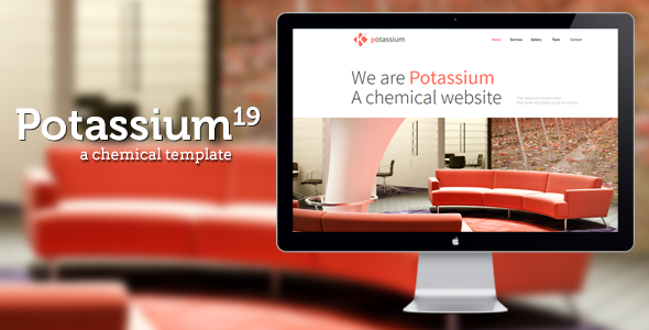 Potassium : Responsive One Page Template