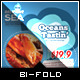 Yummy Tasting - Bi-Fold Brochure Template - GraphicRiver Item for Sale