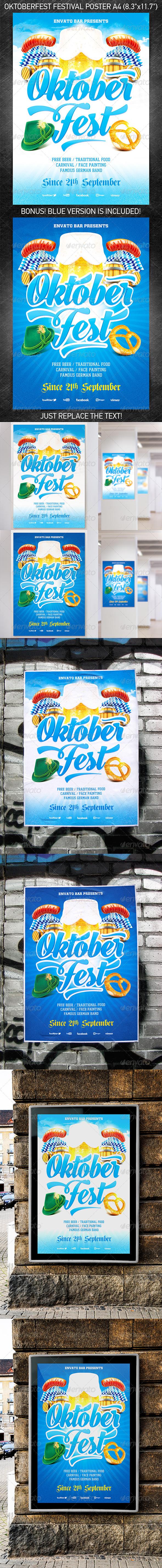 GraphicRiver Oktoberfest Festival Poster Vol.2 5425209