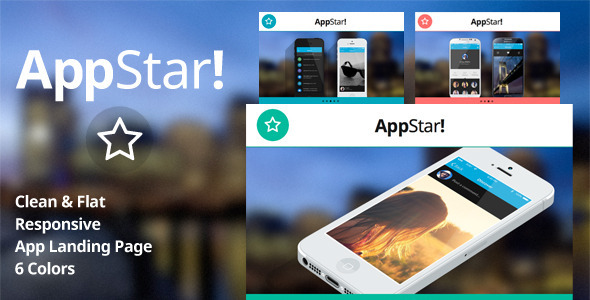 ThemeForest AppStar Responsive App Landing Page 5464610