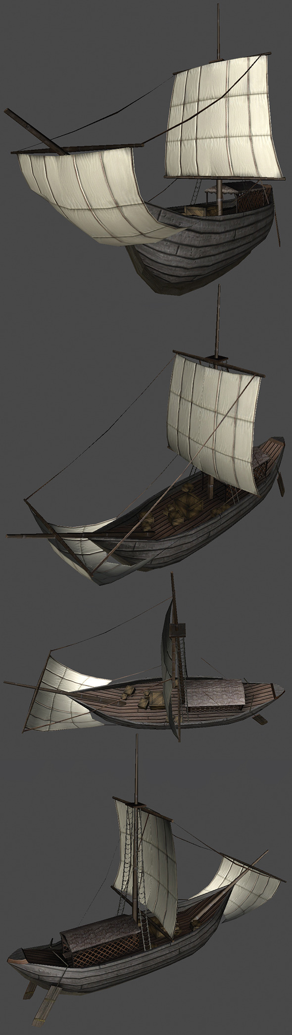Roman Ship - 3DOcean Item for Sale