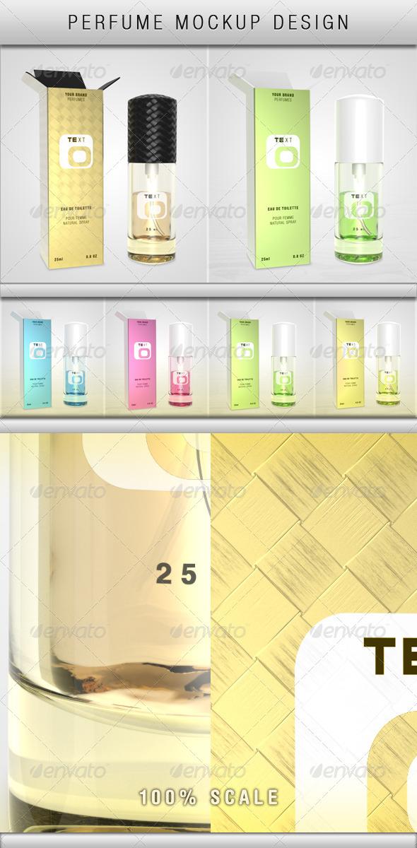 GraphicRiver Perfume Mockup 5408325