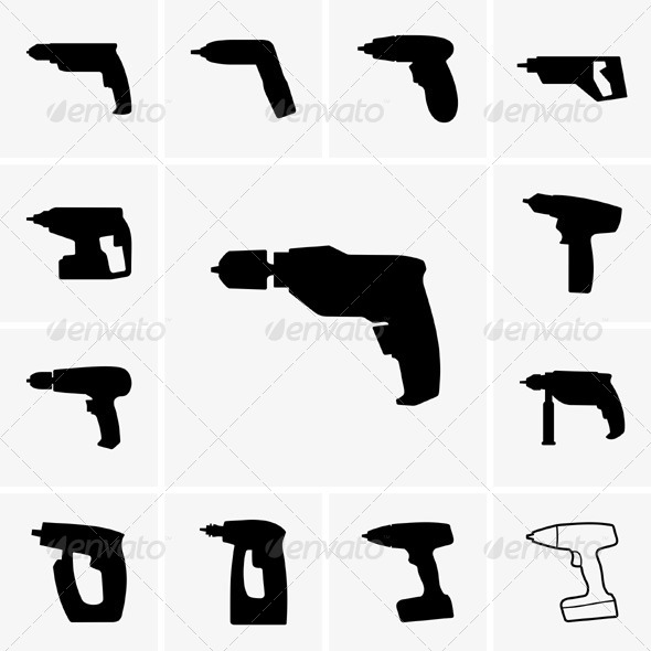 GraphicRiver Drills 5466889