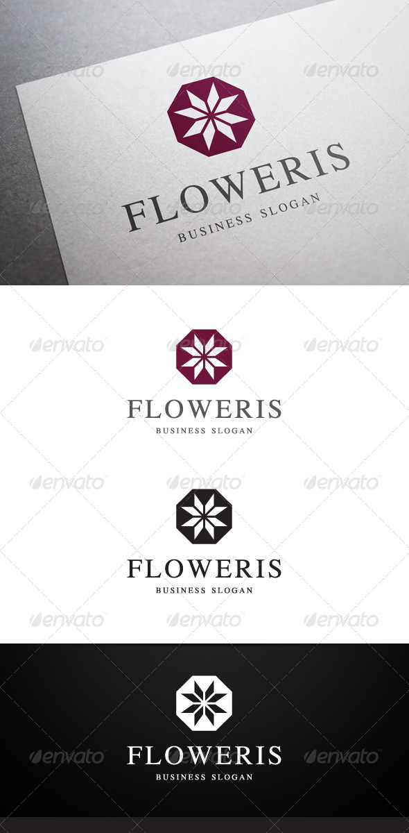 GraphicRiver Floweris Logo 5467043