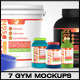Bodybuilding Mockup Pack - GraphicRiver Item for Sale