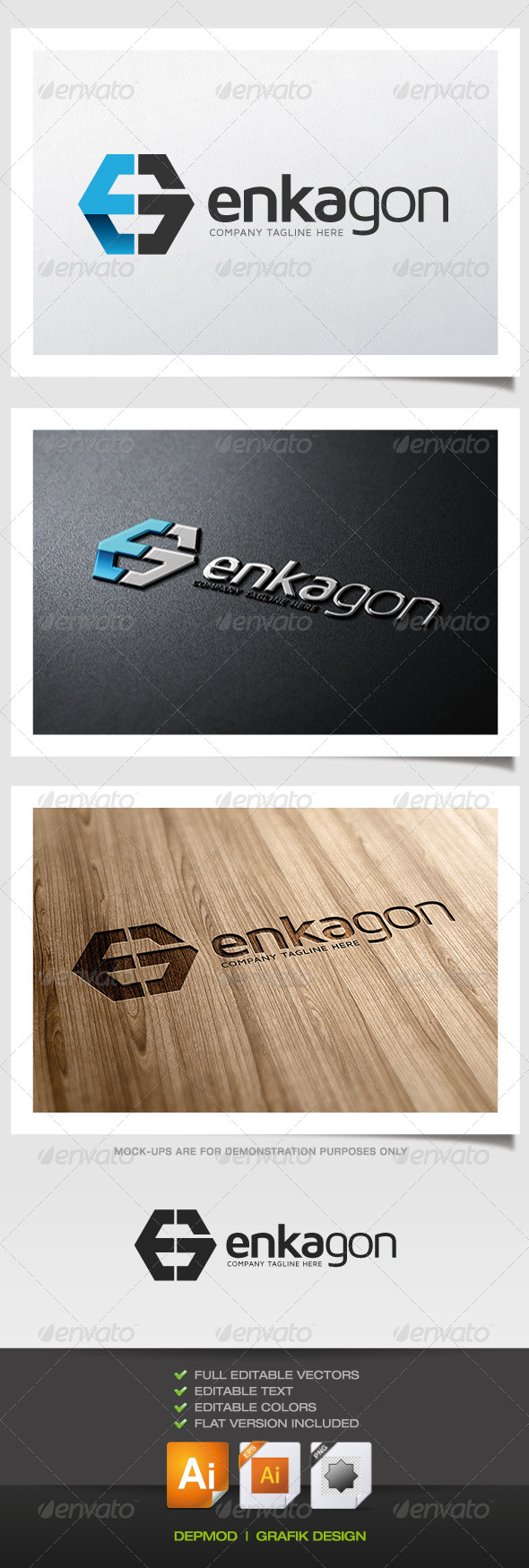 GraphicRiver Enkagon Logo 5467274