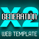 Generation X2 Template - ActiveDen Item for Sale