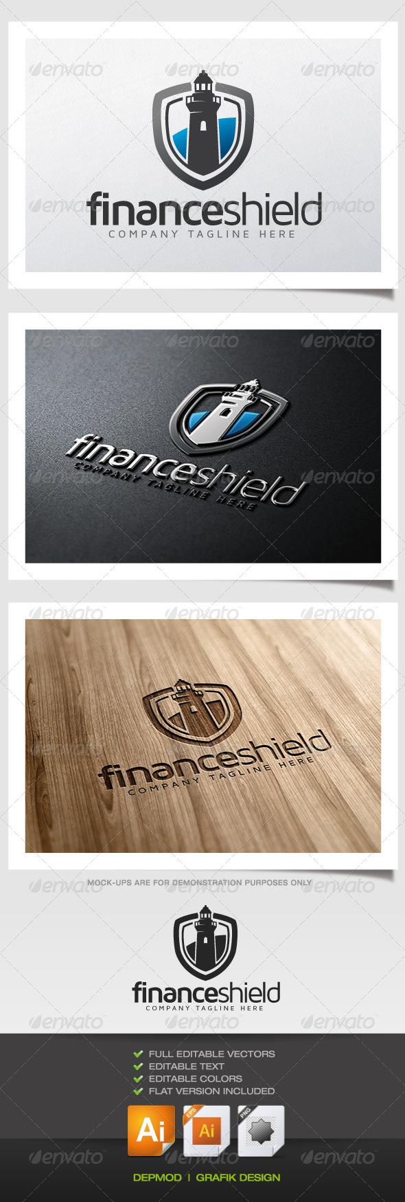 GraphicRiver Finance Shield Logo 5467918