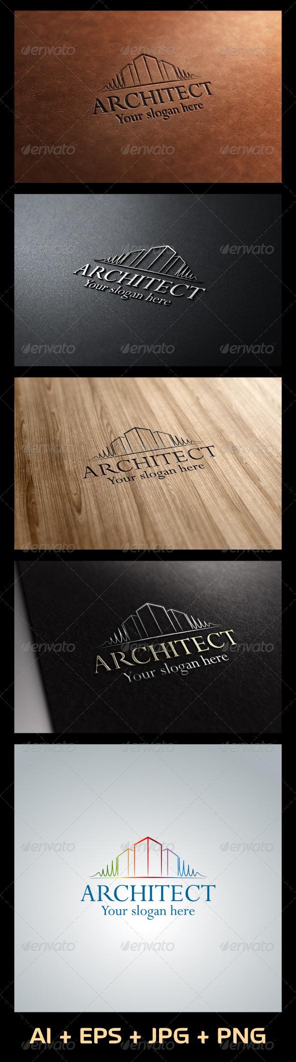 GraphicRiver Architect Logo 5450982