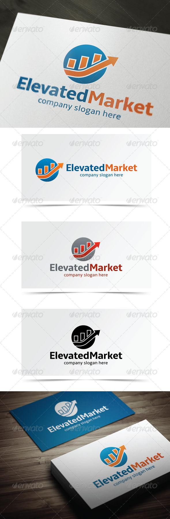 GraphicRiver Elevated Market 5468663