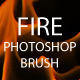 10 Fire Flames Photoshop Brush  - GraphicRiver Item for Sale