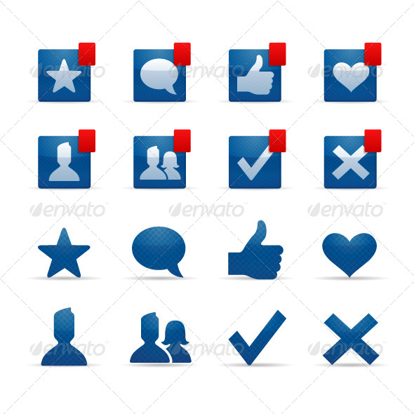 GraphicRiver Social Networking Icons 5470086