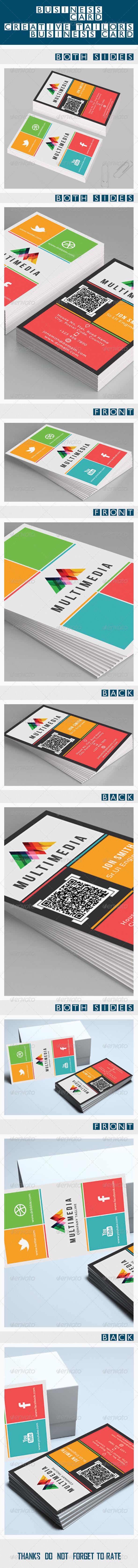 GraphicRiver Metro Design Business Card 5428186