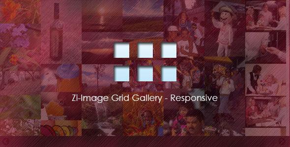 CodeCanyon Zi-Image Grid Gallery Responsive 5470767