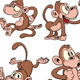 Cartoon Monkeys - GraphicRiver Item for Sale