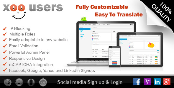 CodeCanyon Facebook PHP Login & Users Management Script 5445982