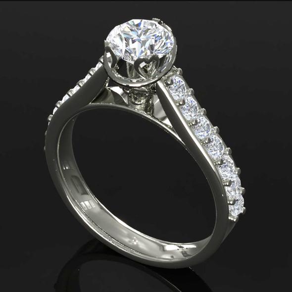 3DOcean CK Diamond Ring 001 5471251