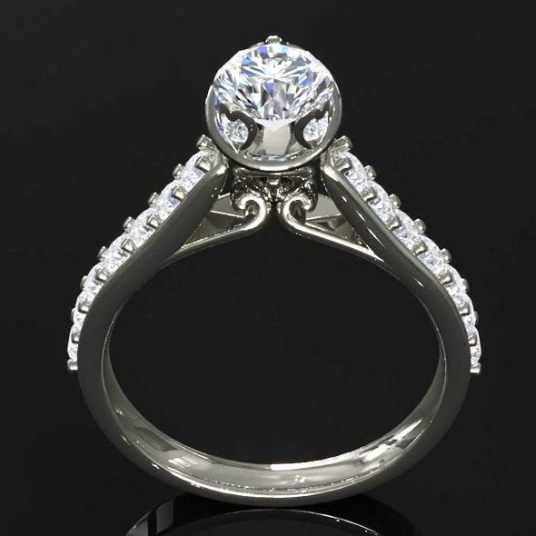 CK Diamond Ring 002 - 3DOcean Item for Sale