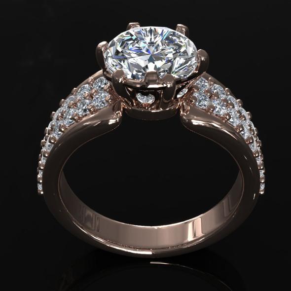 CK Diamond Ring 006