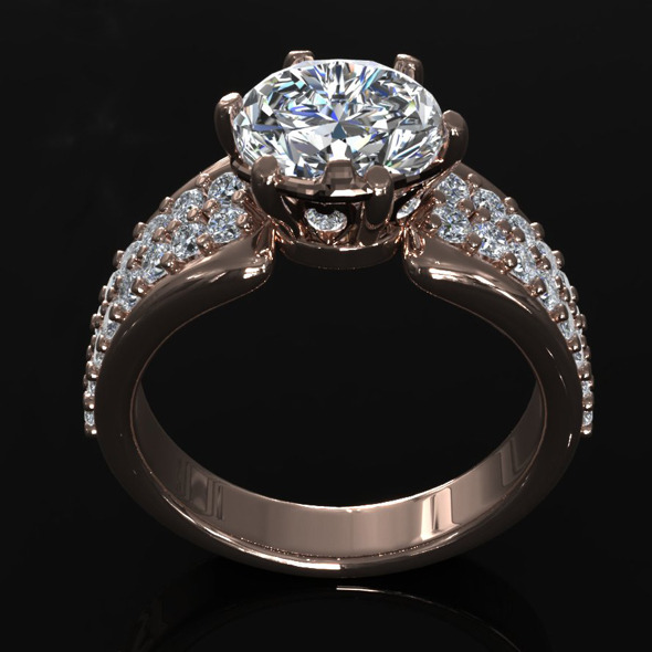 3DOcean CK Diamond Ring 006 5471373