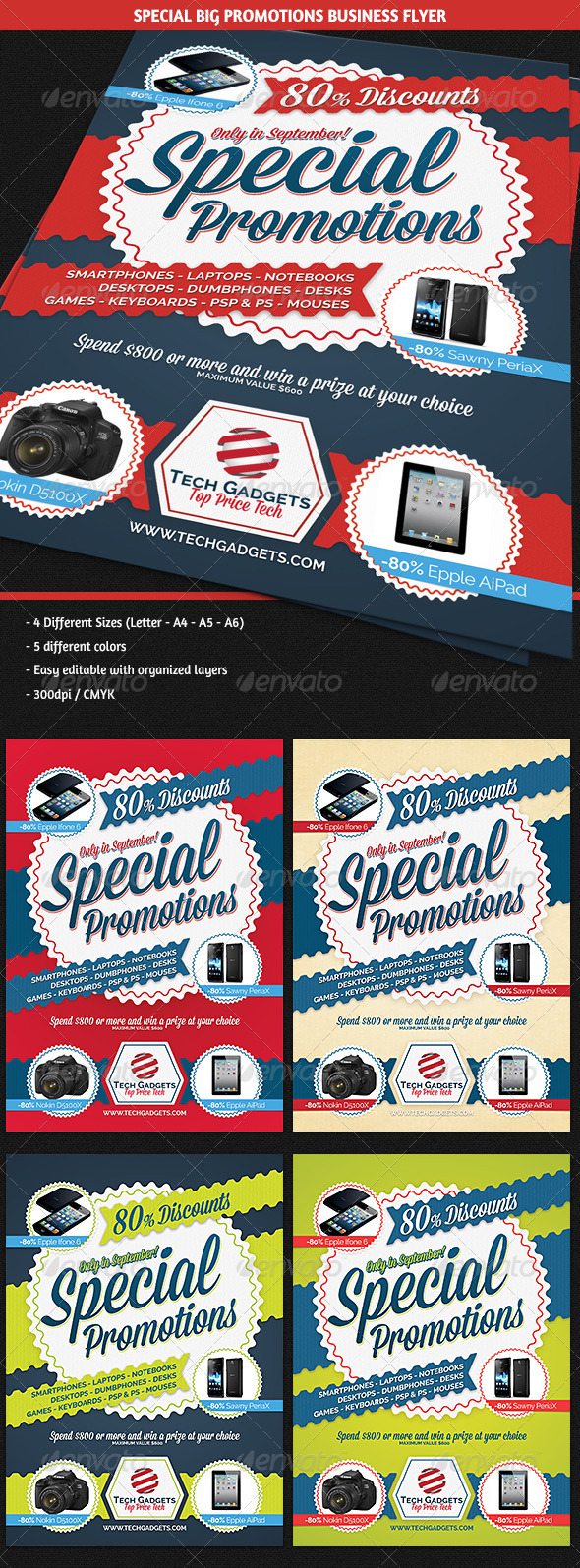 GraphicRiver Special Big Promotions Commerce Flyer 5471378